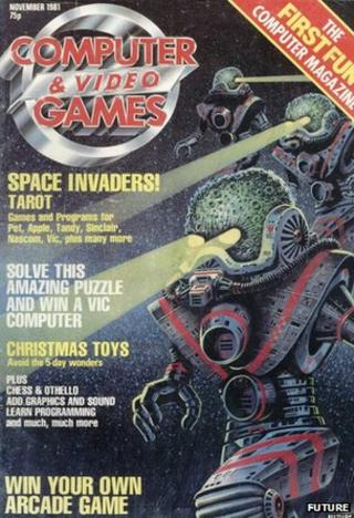 First issue of Computer and Video Games