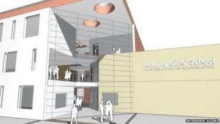 Plans for Reading Girls' School