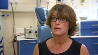 Princess of Wales Hospital chief nurse Lesley Bevan