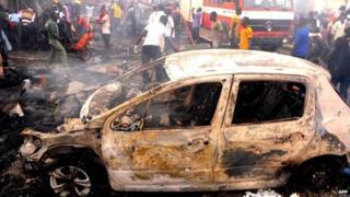Nigeria bombings: 'Death toll passes 100'