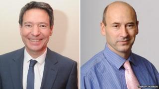 Tim Gordon and Simon Farrington