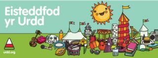 Logo Esiteddfod yr Urdd.