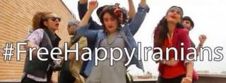 Iranians dancing in Pharell Williams 'Happy' parody
