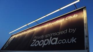 West Bromwich Albion sponsorship advert