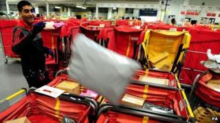 Royal Mail parcels