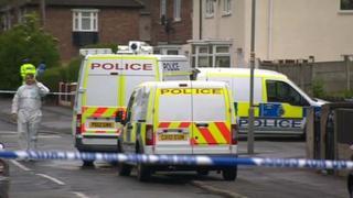 Police in Dovecot