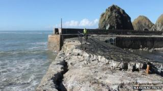 Mullion Harbour. Pic: National Trust