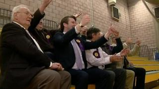 UKIP won two seats