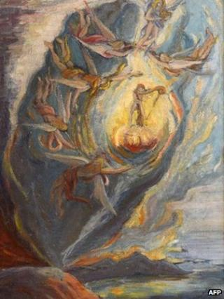 Salvador Dali's The Intrautirine Birth of Salvador Dali