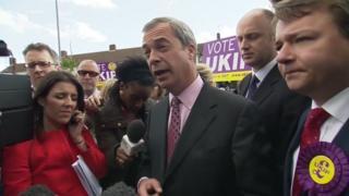 Nigel Farage in Thurrock
