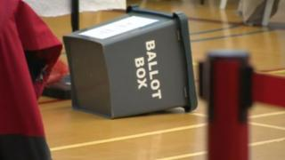 Ballot box in Amber Valley