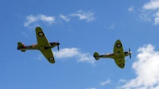 Awyrennau Spitfire