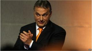 Viktor Orban celebrates victory in Hungary's European election