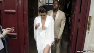Kanye West and Kim Kardashian spend honeymoon in Ireland