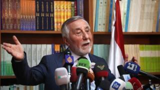 Bahjat Suleiman, the Syrian ambassador to Jordan
