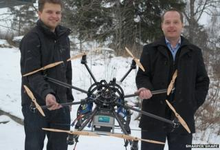 Tree-mapping drone start-up has sky-high ambitions