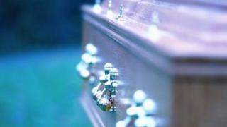 Coffin - stock image