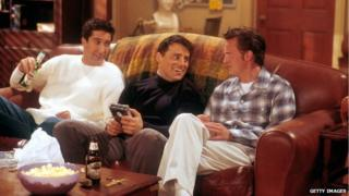David Schwimmer, Matt LeBlanc and Matthew Perry