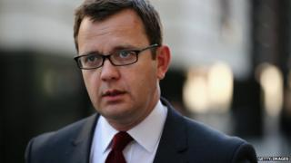Andy Coulson at Old Bailey