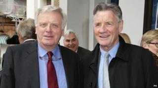 Lord Grade and Michael Palin