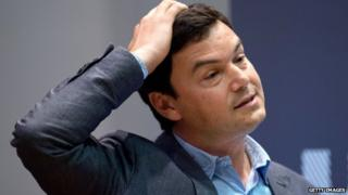 French economist Thomas Piketty at King's College in London on 30 April, 2014.