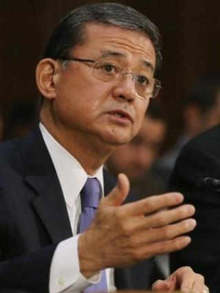 US Veterans Affairs Secretary Eric Shinseki appeared before the Senate Veterans Affairs Committee on 15 May 2014