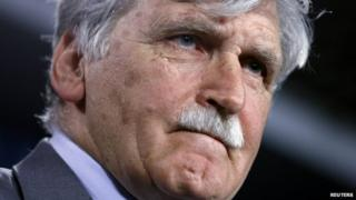Senator Romeo Dallaire appeared in Ottawa on 28 May 2014