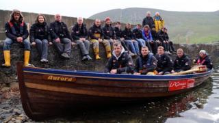 St Kilda to Skye rowers