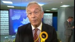 Defeated Lib Dem MEP Bill Newton-Dunn