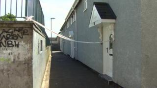 The elderly man was found unconscious in a bedroom of the property