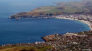 Irish Sea from the Isle of Man