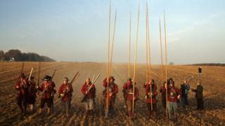 English Civil War re-enactment