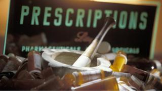 Generic prescription sign