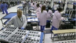 Motorola Mobility Texas factory