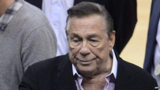 Donald Sterling appeared in Los Angeles, California, on 21 April 2014