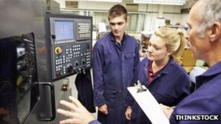 Apprentice engineers