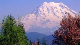 Mt Rainier, file pic