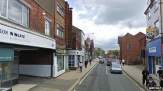 Alfreton town centre