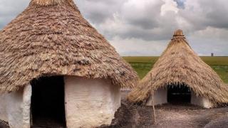 Neolithic houses at Stonehenge