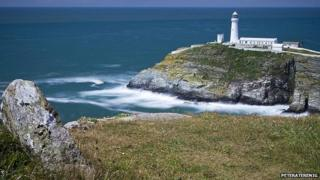 File photo of South Stack by Peteraterenig