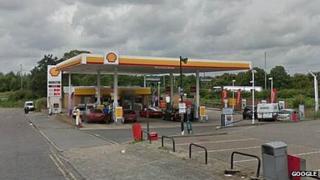 Petrol station, Brook Street, Brentwood
