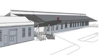 Plans for some of the work at Aberystwyth station