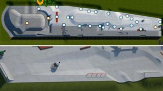Petersfield skate park design