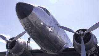 DC3 Dakota at IAT Air Tattoo RAF Fairford