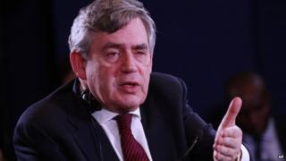 Gordon Brown, former PM