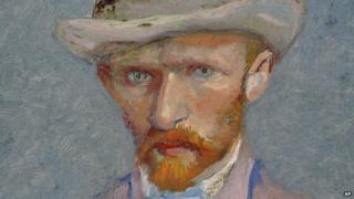 Autorretrato de Vincent van Gogh