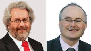 Former Worcester City Council leader Adrian Gregson has been replaced by Conservative Simon Geraghty