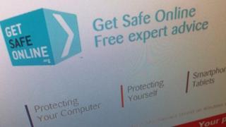 Get Safe Online website