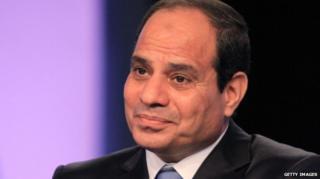 Egyptian president-elect Abdel Fattah al-Sisi