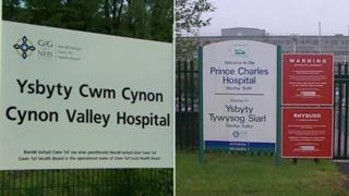 Ysbyty Cwm Cynon and Prince Charles Hospital
